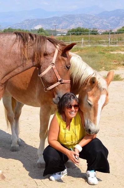 Μαρία Λίγκα άλογο