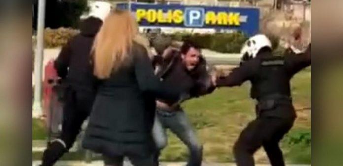 επίθεση σε πολίτη στη Νέα Σμύρνη