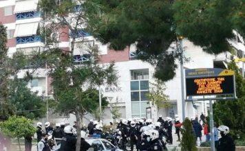 αστυνομία στην πλατεία Νέας Σμύρνης