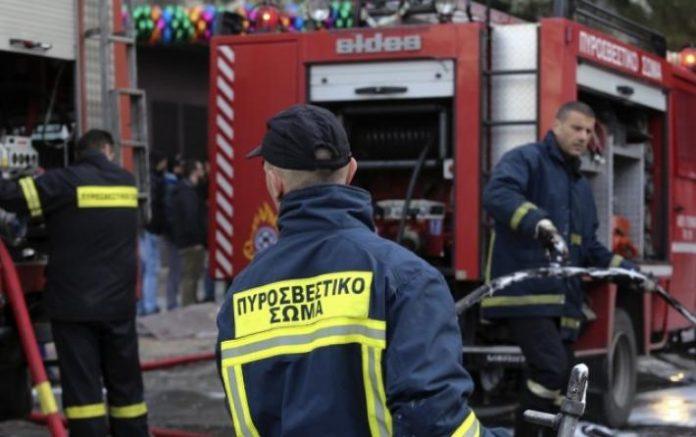νεκροί σε φλεγόμενο κτήριο στη Θεσσαλονίκη