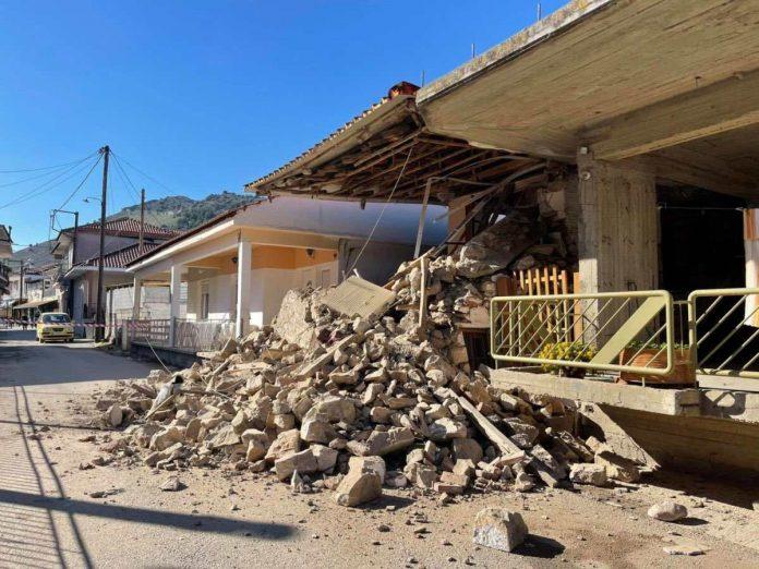 ερείπια σπιτιών στο Δαμάσι