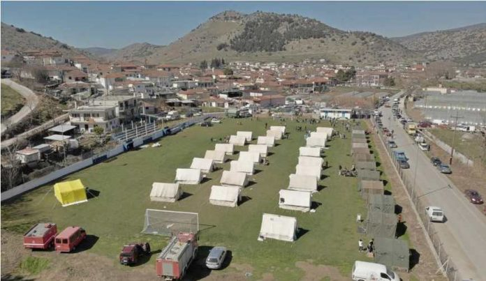 Πολλά μη κατοικήσιμα σπίτια από το σεισμό στην Ελασσόνα