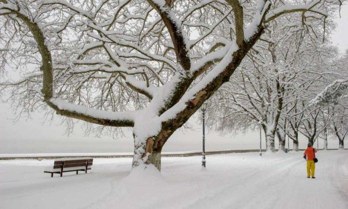 χιόνια στα Ιωάννινα την Καθαρά Δευτέρα
