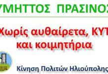 ΑΦΙΣΑ ΠΡΑΣΙΝΟΣ ΥΜΗΤΤΟΣ