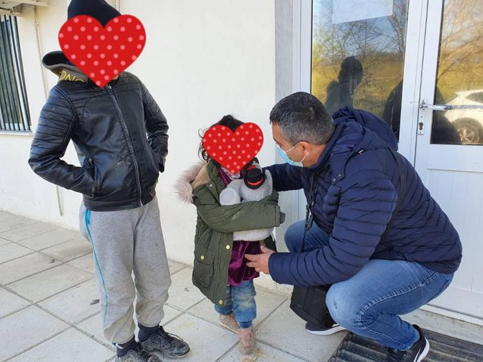 Γιαλαμάς, προσφυγόπουλα