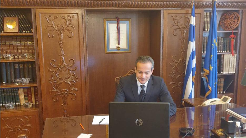 Σταύρος Καφούνης Πρόεδρος Εμπορικού Συλλόγου Αθηνών
