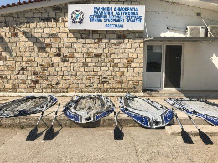 πλαστικές βάρκες, διακινητές