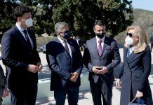 Η ΠτΔ στα εγκαίνια της νέας πτέρυγας του 1ου Κέντρου Υγείας Σαλαμίνας