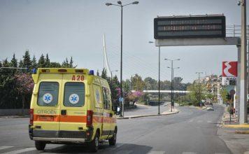 μεταφορά 17χρόνου στο ΚΑΤ μετά από έκρηξη κροτίδας