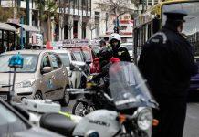 διαμαρτυρία εκπαιδευτών οδήγησης στη Θεσσαλονίκη
