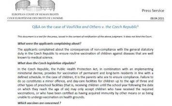 ευρωπαϊκό δικαστήριο για υποχρεωτικότητα εμβολιασμού