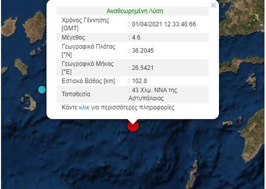 Σεισμός καταγραφή