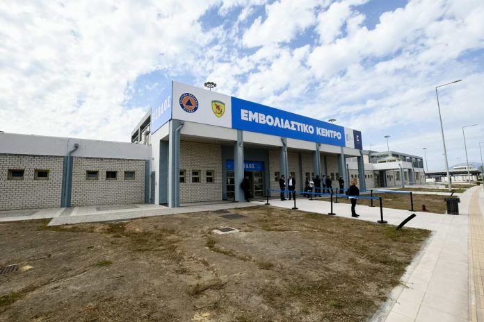 mega εμβολιαστικό κέντρο Πάτρας