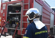 πυρκαγιά σε εγκαταλελειμμένο κτήριο στον Πειραιά