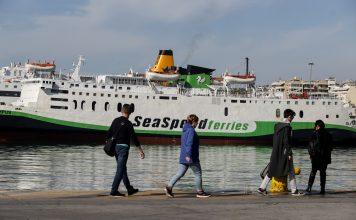 Κίνηση στο λιμάνι του Πειραιά