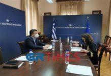 Γιάννα Αγγελοπούλου στη Θεσσαλονίκη