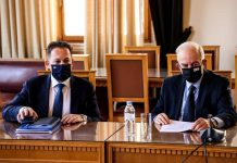 Συνάντηση Πέτσα με Κουράκη στη Κρήτη